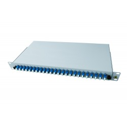 "19"" Optic Patch Panel Splice ready 48x LC/UPC"