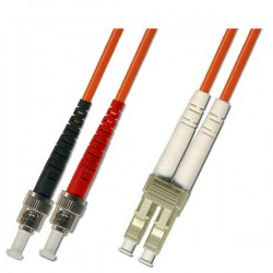 Optical Patchcord ST/UPC-LC/UPC, Duplex, MM 50/125