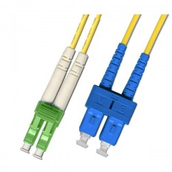 Optical Patchcord LC/APC-SC/UPC, Duplex, SM