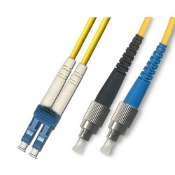 Optical Patchcord LC/UPC-FC/UPC, Duplex, SM