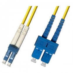 Optical Patchcord LC/UPC-SC/UPC, Duplex, SM