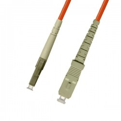 Optical Patchcord LC/UPC-SC/UPC, MM 62.5/125
