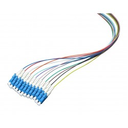 Optical Pigtail LC/PC, 1.5m, Color Coded, Non-easy strip
