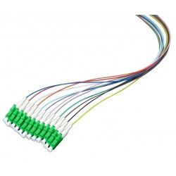Optical Pigtail LC/APC, 1.5m, Color Coded, Non-easy strip